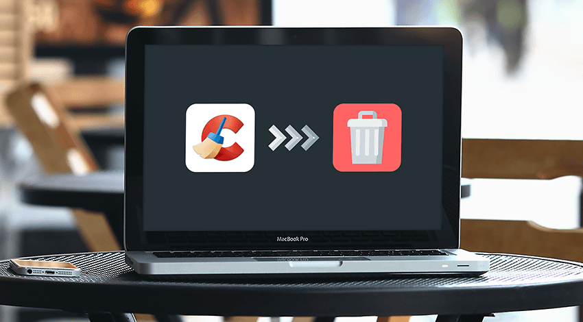 Use the Trash to remove CCleaner