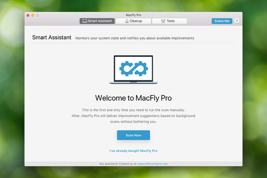 Welcome to MacFly Pro
