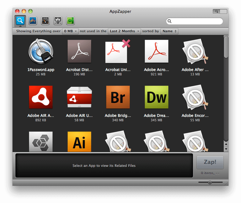 appzapper related files